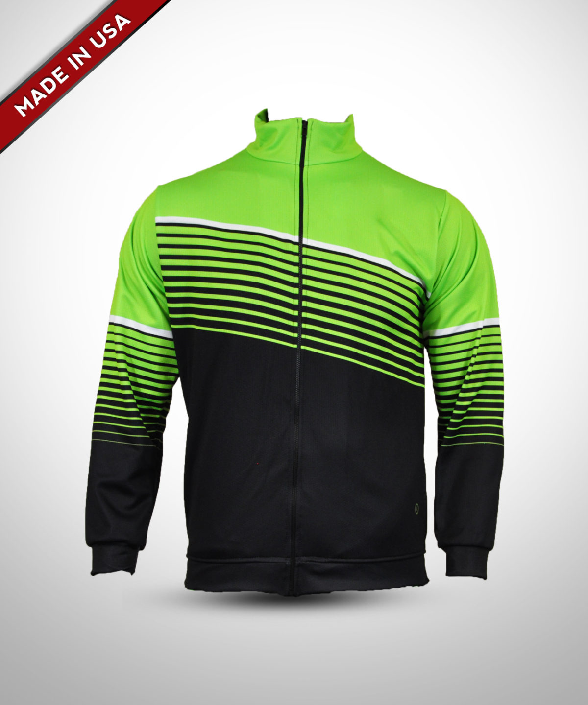 Full Dye Sub Full Zip Warmup Jacket – Adult